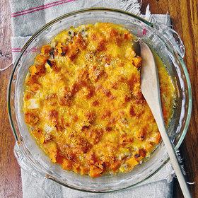 Food & Wine: Chicken, Sweet Potato and Rice Casserole