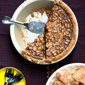 Food & Wine: Black-Bottom Peanut Pie