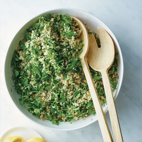 Food & Wine: Herb-and-Bulgur Salad with Sunflower Seeds