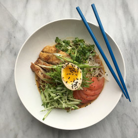 Food & Wine: Hiyashi Chuka (Cold Summer Ramen)