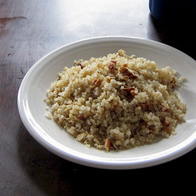 Food & Wine: Quinoa Pilaf with Pecans