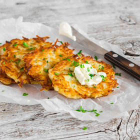 Food & Wine: 5 Tips for Making Perfect Latkes from Chef Yehuda Sichel