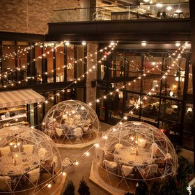 Food & Wine: Sip Cocktails in an Igloo Surrounded by Christmas Trees at This Brooklyn Hotel