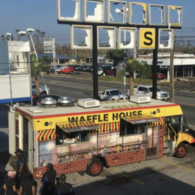 mkgalleryamp; Wine: Waffle House Food Truck Gives Away Free Food to Panama City Hurricane Victims