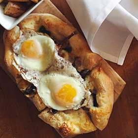 mkgalleryamp; Wine: Breakfast Pizza, Lollipop Chicken and Oysters Inspired by Andy Warhol