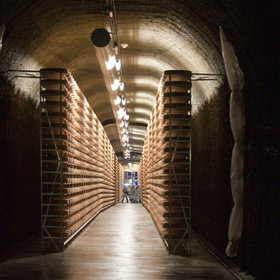 mkgalleryamp; Wine: This Cave in a Swiss Mountain Is Used to Age 156,000 Wheels of Cheese