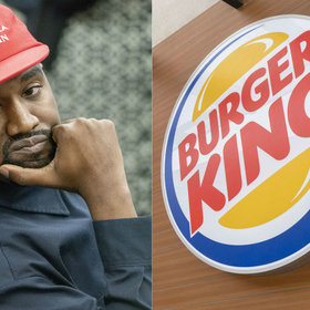 mkgalleryamp; Wine: Kanye West Trolled by Burger King After He Reveals That McDonald's Is His Favorite Restaurant