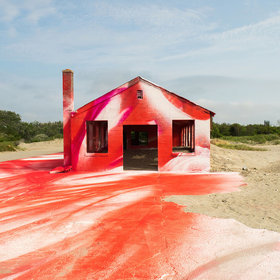Food & Wine: You Can't Miss This Spray-Painted Beach House