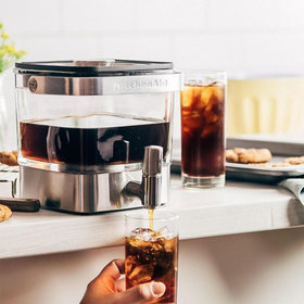 mkgalleryamp; Wine: Amazon Is Having a Secret Sale on This Popular KitchenAid Cold Brew Coffee Maker — but You Have to Act Fast