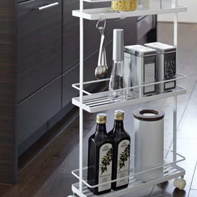 mkgalleryamp; Wine: Brilliant Ways to Turn Unsightly Appliance Gaps into Extra Storage Space