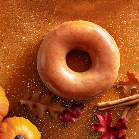mkgalleryamp; Wine: Krispy Kreme Pumpkin Spice Doughnuts Are Coming Back Again …Already!