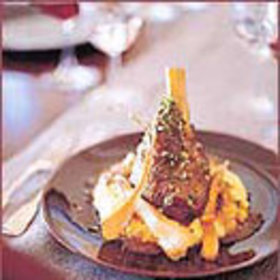 Food & Wine: Braised Lamb Shanks with Tangerine Gremolata