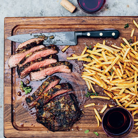 Food & Wine: Lemon-Garlic-Marinated Flank Steak