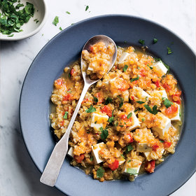 Food & Wine: Yellow Lentil Dal with Tofu