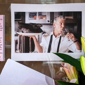 mkgalleryamp; Wine: Anthony Bourdain's Funeral Is on Hold, but Memorials Are Popping up Around the World