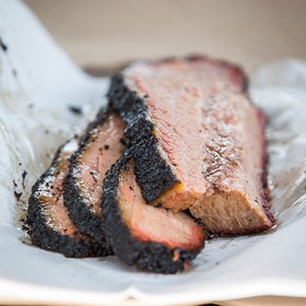 Brisket at the forthcoming Lewis Barbecue