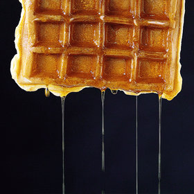 mkgalleryamp; Wine: Light and Crispy Waffles