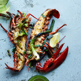 Food & Wine: How to Grill Lobster