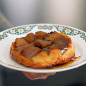 Food & Wine: Tarte Tatin with Vanilla Ice Cream