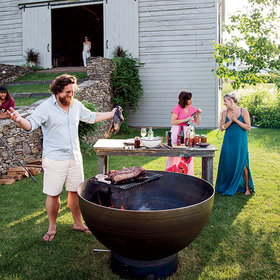 Food & Wine: Chef Zakary Pelaccio is Hudson Valley's Garden to Grill Radical