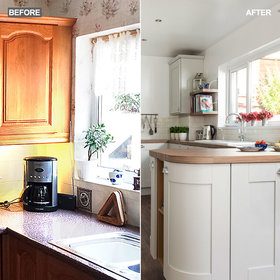 Food & Wine: Before and After: Coastal-Inspired Kitchen Makeover