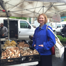 Food & Wine: The New Queen of the Union Square Farmers Market