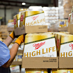 Food & Wine: Miller High Life Sees First Sales Increase in Over 7 Years