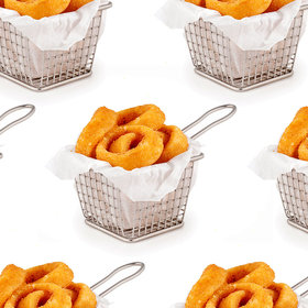Food & Wine: These Are the Tiniest Onion Rings We've Ever Seen