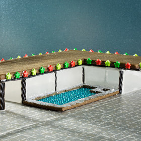 Food & Wine: The Modernist Gingerbread House You've Been Waiting For