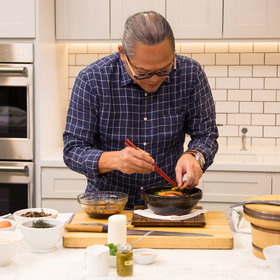 Food & Wine: How to Make Iron Chef Morimoto's Signature Buri Bop