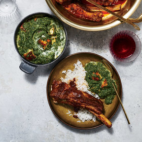 Food & Wine: Mustard Greens Saag Paneer