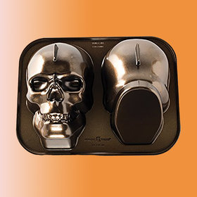 Food & Wine: These Halloween Cake Pans Are So Cool It's Scary—and They're on Sale