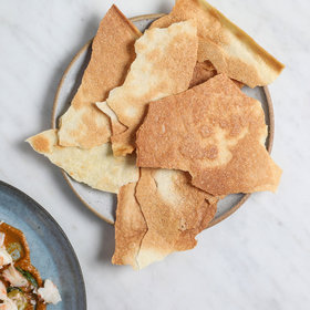 Food & Wine: Olive Oil Crackers