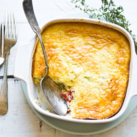 Food & Wine: 5 Sweet and Creamy Corn Puddings