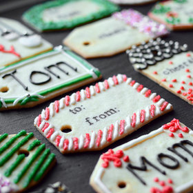 Food & Wine: Christmas Cookie Gift Tags