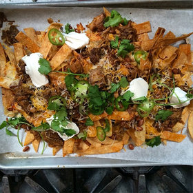 Food & Wine: Carnitas Nachos, Massive Steaks and Grilled Mackerel