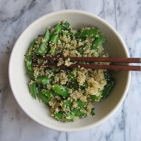 Food & Wine: Quinoa Sauté with Grüner Veltliner