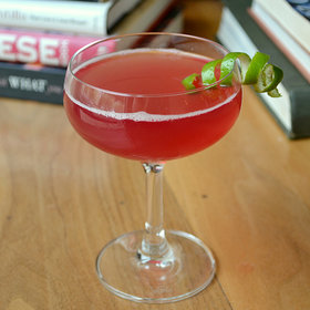 Food & Wine: A Killer Rhubarb Cocktail