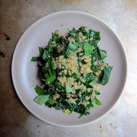 Food & Wine: Quinoa and Kale, Meet the Portobello