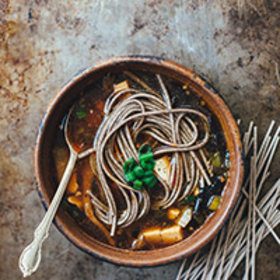 Food & Wine: Hot and Sour Soba Noodle Soup