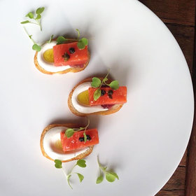 Food & Wine: There's More to This Salmon Crostini Than Meets the Eye