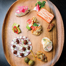 Food & Wine: Who Needs Meat When There's Seafood Charcuterie?