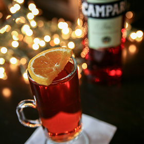 Food & Wine: A Hot Campari Cocktail for Christmas
