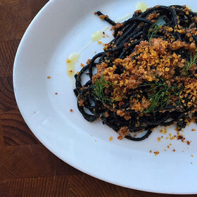 Food & Wine: Spicy Tuna Tostadas, DIY Dumplings and Bryan Voltaggio's Squid Bolognese