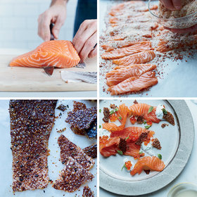 Food & Wine: How to Cure Salmon in 30 Minutes