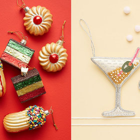 Food & Wine: Anthropologie Just Dropped Hundreds of Holiday Decorations—Including These Adorable Food Ornaments