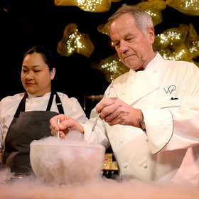 mkgalleryamp; Wine: Wolfgang Puck on His Famous Chocolate Oscars and His Littlest Assistant