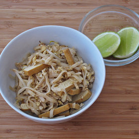 Food & Wine: Pad Thai with Pressed Tofu