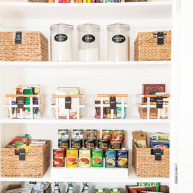 mkgalleryamp; Wine: 5 Brilliant Organizing Ideas to Steal From the Most Inspiring Pantries