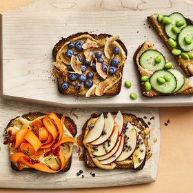Food & Wine: 12 Healthy Ways to Spice Up Your Morning Toast
